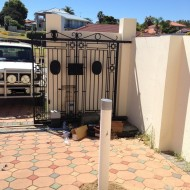 New water bore driveway