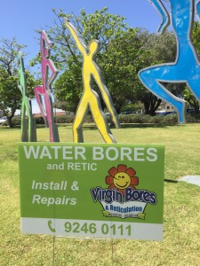 Water bores Melville