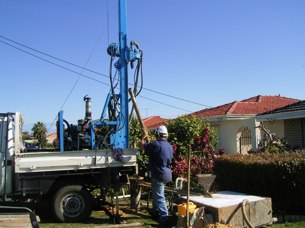 We have different drilling rigs to suit different jobs