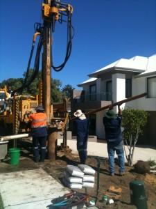 Bore drilling, Gnangara