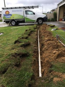 Connecting bore to rey tic sprinkler system