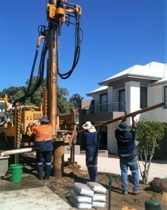 Yanchep Bore drilling