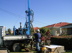 Bore drilling Wangara
