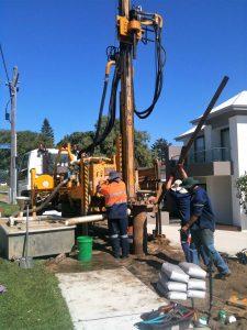 Iluka Water Bore drilling