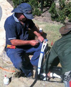 Bore electrical repairs