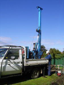 Bentley Water Bore drilling in Queens Park, Cannington, Wilson and St James