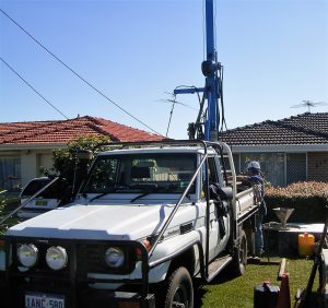 Bore drilling Alexab nder Heights, Landsdale