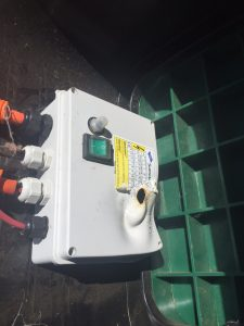 melted start capacitor bore pump