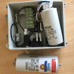 Replace bore pump capacitor Perth