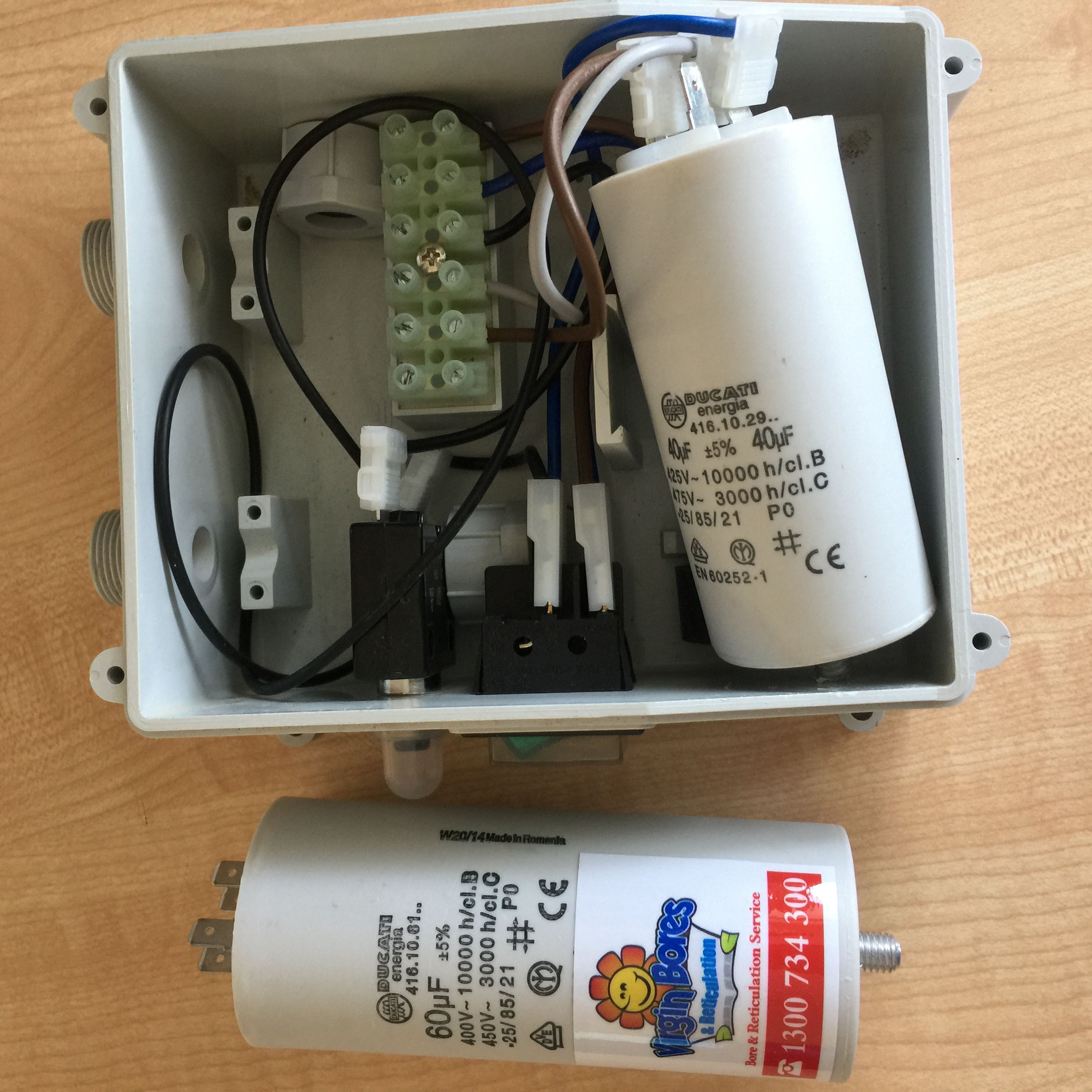 We Replace Blown Bore Capacitors In Perth 9246 0111 Electrical What Does A Capacitor Do Circuit Pump