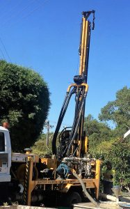 Water bore drilling Perth truck rig
