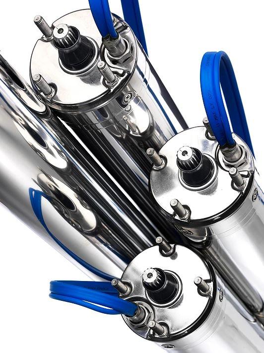 Submersible pump motor PM Tech