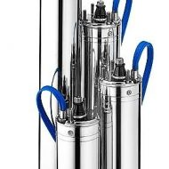 stainless steel bore pump