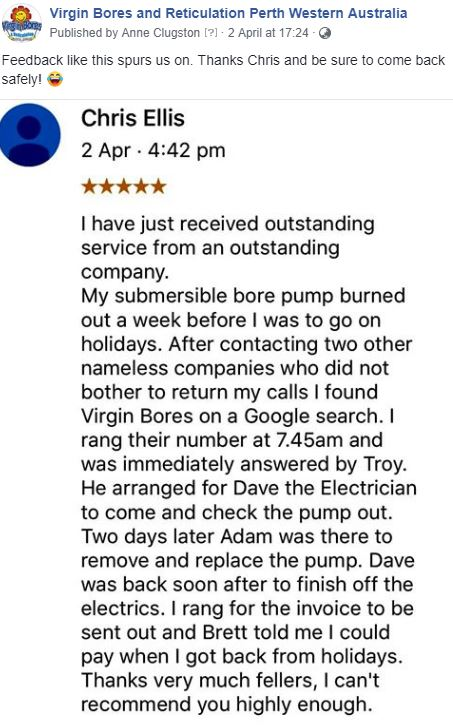 Virgin Bores review