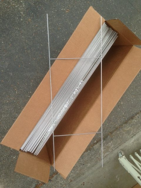 metal wire sign stakes for sale perth virgin bores. Black Bedroom Furniture Sets. Home Design Ideas